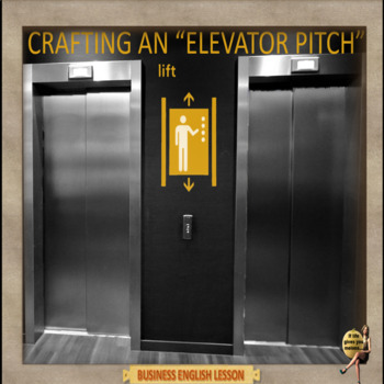 Elevator pitch – Business English - ESL adult  classes
