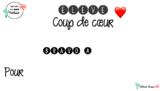 Élève coup de coeur - Bravo à / Pour...