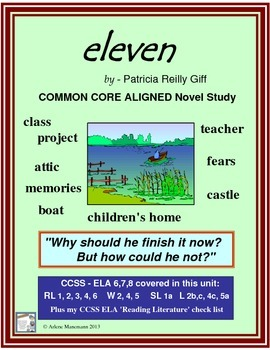 ELEVEN, by Patricia Giff, Novel Study