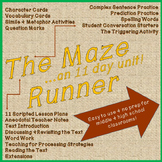 The Maze Runner (11 day unit for middle and high school students)