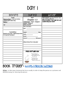 Eleven Guided Reading Packet