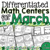 Sixteen March Math Centers with Differentiation