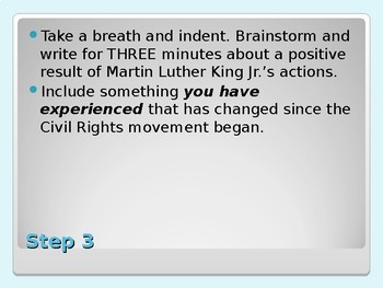 Eleven Minute Essay- Martin Luther King Jr.