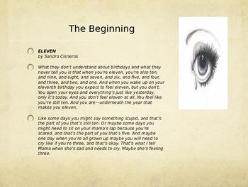 Eleven, The Short Story by Sandra Cisneros