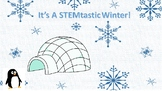 Eleven Winter STEM Challenges BUNDLE with Teacher Notes &