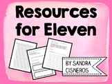 Eleven by Sandra Cisneros - Activities & Projects