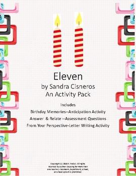 Eleven by Sandra Cisneros Activity Pack