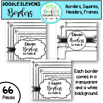 Elevens Border Set by Kelly Benefield