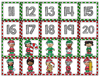 Elf! A Teen Numbers Game