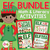 Elf Activities Bundle | Christmas Activities for Preschool and Kindergarten