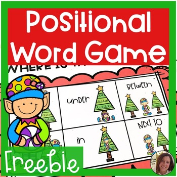 Elf Activities FREEBIE | Where is the Elf? | Special Education Resource
