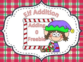 Elf Addition Adding 0 FREEBIE