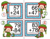 Elf Addition - Double Digit Addition with Regrouping
