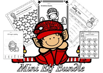 Elf Math Mini Bundle - Christmas Activities and Holiday Fun!