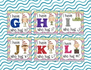 Elf Alphabet Games