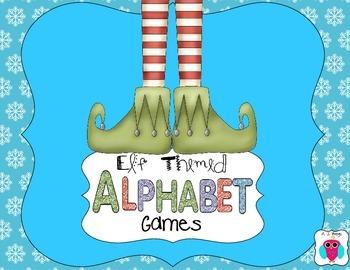 Elf Alphabet Games