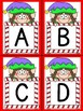 Elf Alphabet Letter Flashcards Uppercase and Lowercase