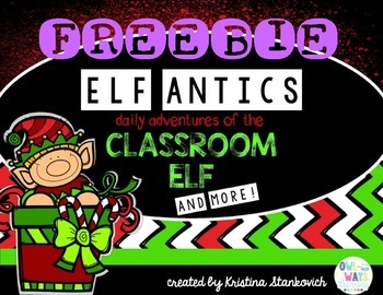 Elf Antics Freebie