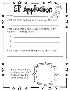Santa's Elf Application
