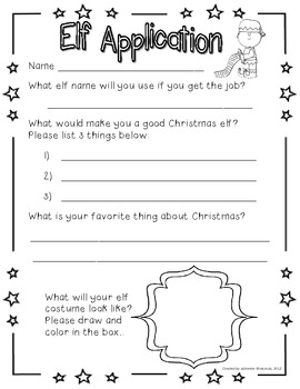 Santa's Elf Application