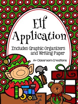 Elf Application {A Holiday Writing Activity}