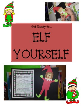 Elf Application Craftivity / Art Project