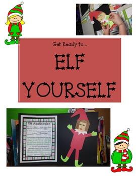 Elf Application Craftivity / Art Project