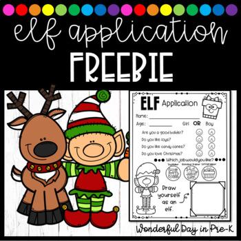 Elf Application FREEBIE