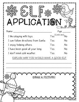 Elf Application Writing