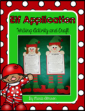 Elf Application Writing Activity with Craft