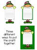 Elf Application and Activities (writing, elf name, craft, word search)