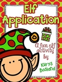 Elf Application, Elf ID Cards, and {Editable} Letter from
