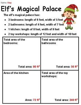 Elf Area Activity