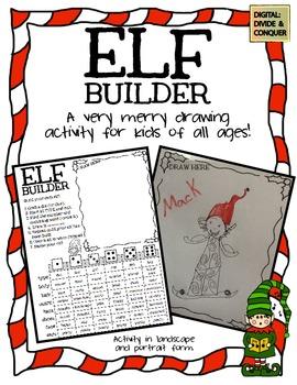 Elf Builder!  A Merry Little Drawing Activity