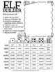 Elf Builder!  A Merry Little Drawing Activity