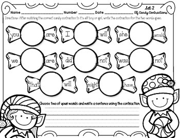 Elf Candy Contraction Match Up