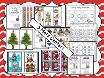 Christmas Activities Elf Capades Math and Literacy Fun {Common Core Aligned}