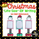 Elf Christmas Holiday Writing Craft