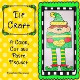 Elf Craft, Holiday Craft, December Craft