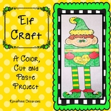 Elf Craft, Holiday Craft, December Craft