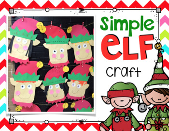 Elf Kinder Craft- Simple & Easy