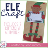 Elf Craft Activities for Speech Therapy