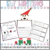 Elf Craftivity and Writing Prompts