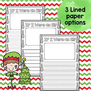Elf Creative Writing Prompts and Craft!