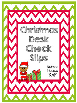 Elf Desk Check Slips