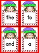 Elf Dolch Pre-Primer Sight Word Posters and Flashcards