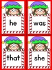 Elf Dolch Primer Sight Word Posters and Flashcards