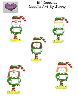 Elf Doodles