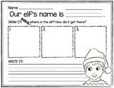 Elf Drawing and Writing Activity