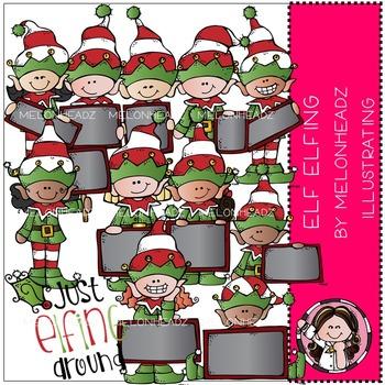 Melonheadz: Elf Elfing clip art - COMBO PACK